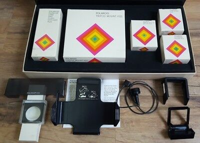 Vintage Polaroid SX-70 Land Camera Accessory Kit Complete in Box