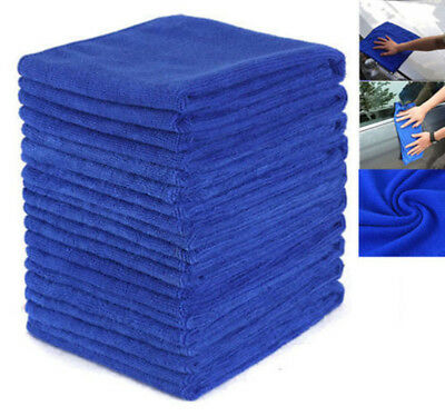 10pc/Lot Microfiber Towel Kitchen Wash Auto Car Home Cleaning Wash Clean Cloth K