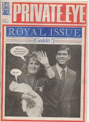 Vintage Private Eye No 696 19 Aug - 2 Sep 1988 Fergie Ken Dodd