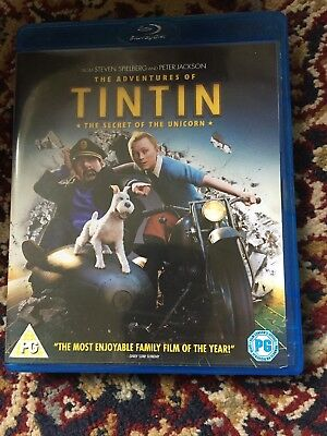The Adventures Of Tintin Blu-ray
