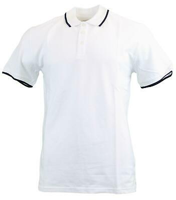 Peter Werth Mens Classic Plain Tipped/Non Tipped Smart Casual Polo Shirts