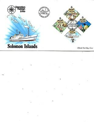 Soloman Isles 1986 First Day Cover
