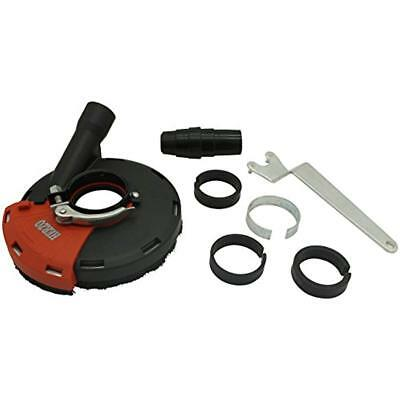 Herzo Universal Surface Grinding Dust Shroud For Angle Grinder 5-Inch *New*