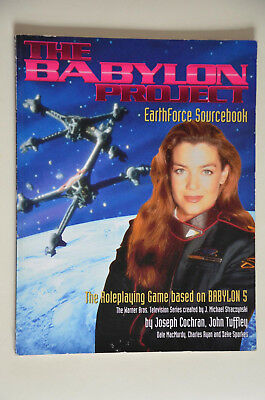 The Babylon Project - Earthforce Sourcebook - Babylon 5  - Sammlung