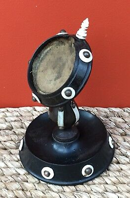 Antique 19th Century Ebonised Wood Pocket Watch Stand