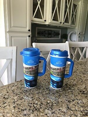 2018 Marriott Maui Ocean Club Refillable Cups - Two (2) Save More Than $25 Here