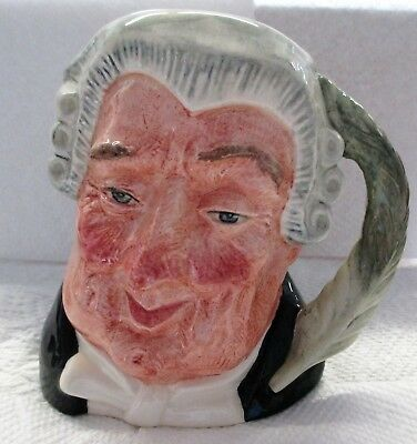 Royal Doulton Mug Toby Jugs The Lawyer  Excellent Condition