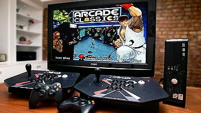 MAME HyperSpin Arcade PC Computer - With 2TB Hard Drive - Plug & Play 30K+ Games