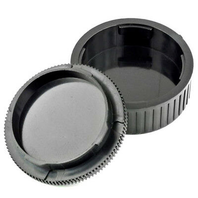 Body Front Rear Lens Cap Cover For DSLR M6 M7 M8 Leica M LM Mount Lens