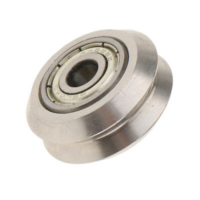 New 3D Printer Double-V Type Slot Wheel Gear with Bearings Pulley Metal
