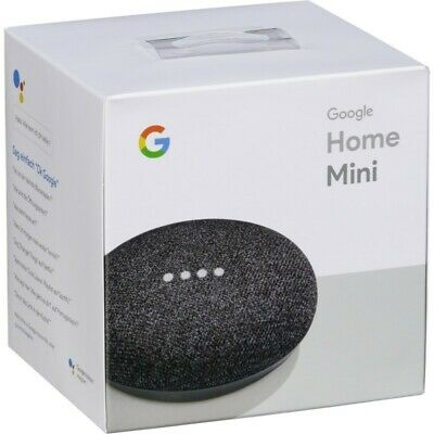 Google Casa Mini Assistente Smart Piccolo Altoparlante - Carbone - Nuovo