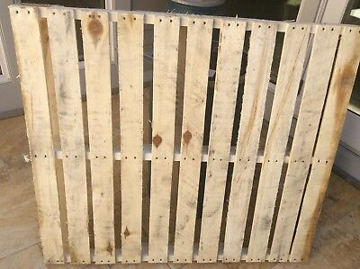 48 x 40 Used Wood Pallet Skid 4 Way - Local Pickup Only