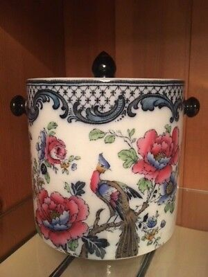 Losolware Biscuit Barrel. Wilton. Keeling & Co. Burslem