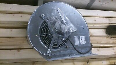 large Industrial Extractor EBM PAPST D4E200-CA02 Centrifugal Fan solder fumes
