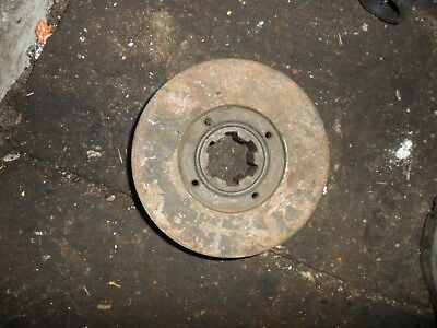 david brown 885 tractor crankshaft pulley
