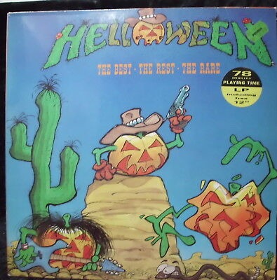 Helloween: The Best-the rest-the rare Lp & free 12""
