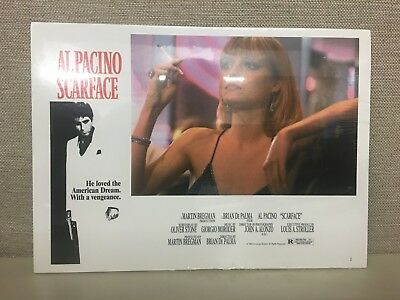 Scarface Movie Print Al Pacino Wall Decor Mob Gangster 1983 Sealed Plastic & New