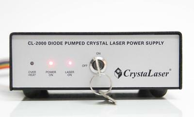 CrystaLaser Diode Pumped Crystal Laser Power Supply CL-2000 (5927)