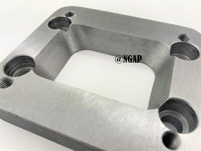"""T3 Undivided Countersunk to T4 Undivided Turbo Inlet Flange Adapter T3/T4 3/4"""""""