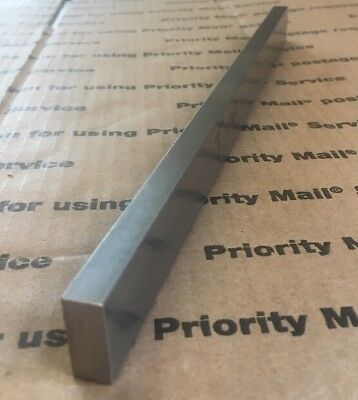 "3/8"" X 7/8"" X 12"" Steel Flat Bar Cold Finished Solid Blacksmith Iron Machining"