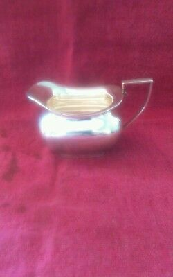 Lovely Silver Plated Milk/Cream Jug (Walker and Hall)