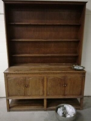Antique oak welsh dresser