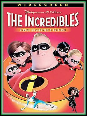 """THE INCREDIBLES"" (Collectors/WIDESCREEN Edition,TWO Disc DVD) -Best DEAL!!"