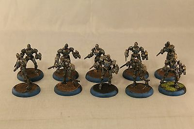 Warmachine Cyriss Reductors Painted