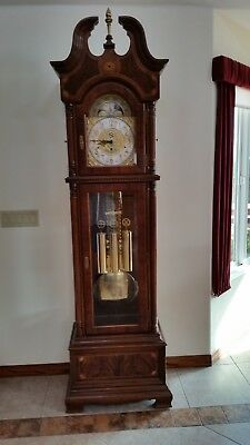 Ridgeway Centennial Statue Of Liberty Grandfather Clock Limited Edition #1023