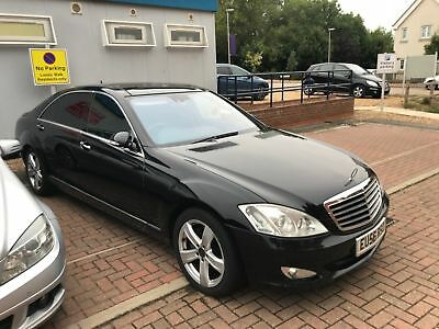 Mercedes S320 Cdi Lwb Diesel Fully Loaded Nightvision No Reserve !!!