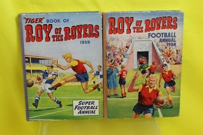 VINTAGE Roy Of The Rovers FootBall Annual 1958/1959 #DAF