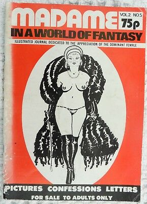 """EARLY """"Madame in a World of Fantasy"""" 2#5. Dominant females! 68 pages fem dom"""