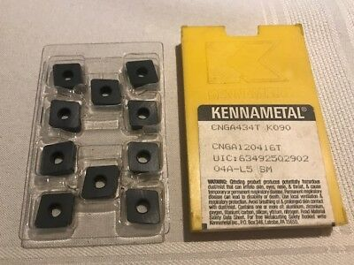 Kennametal Ceramic Inserts - CNGA434T K090 Qty. 10 - NEW