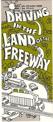 Minnesota Travel Brochure Driving in the Land of the Freeway grc1
