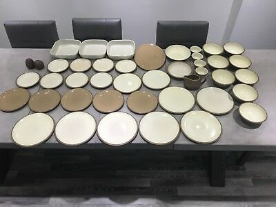"Huge Selection of Denby Pottery ""Cinnamon"" Tableware & Dinnerware, exc condition"