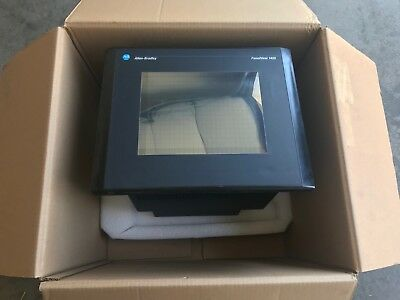 "New! Allen-Bradley 14"" Color Panelview 1400-Eltc15 1400Eltc15 Series E"
