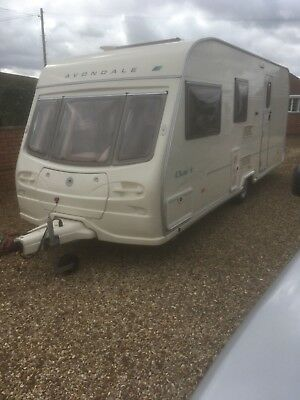 2005 AVONDALE DART 4 BERTH with Motor Mover