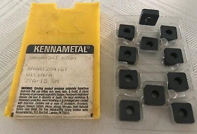 Kennametal Ceramic Inserts - SNGA434T K090 Qty. 11 - NEW