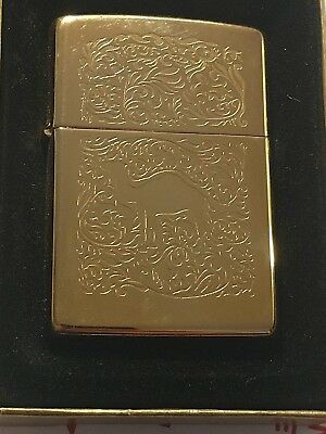 Zippo Camel Gold/Brass double sided  - Unfired NEW sealed