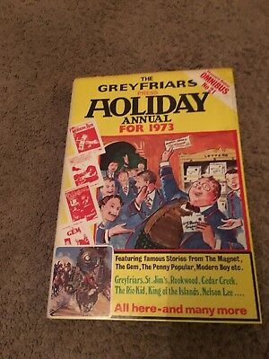 The Greyfriars press Holiday Annual for 1973