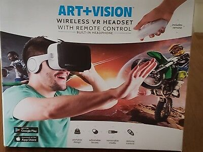 Art +Vision Wireless VR headset with Remote Control