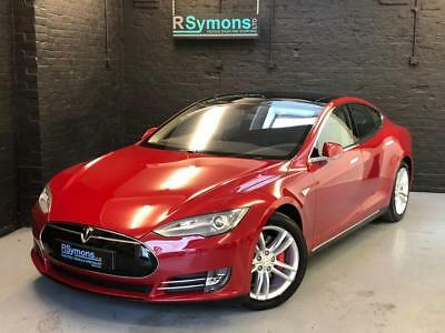 2014 Tesla Model S P85, The first Model S in the UK, Elon Musk handed over