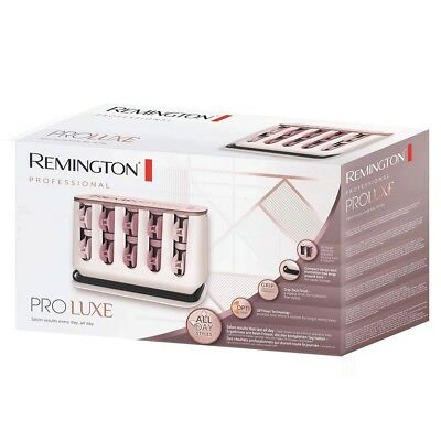 Remington PROLUXE Womens Heated Hair Rollers 20 Pack OptiHeat H9100