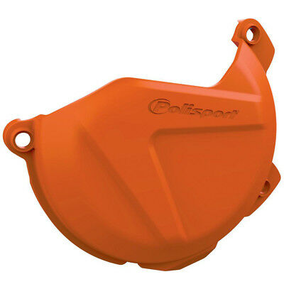 NEW Polisport Mx KTM 350 EXC-F 2016 Orange Motocross Dirt Bike Clutch Cover