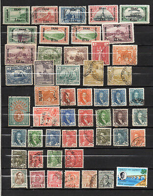 Iraq  90 Different Mint Hinged / Used Stamps