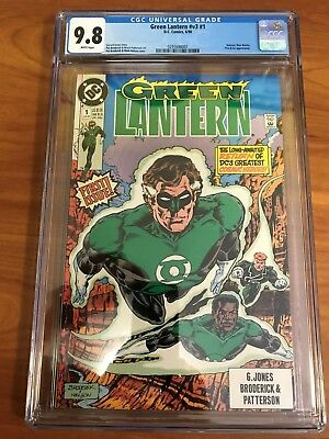 Green Lantern V3 #1  Cgc 9.8  White Pages