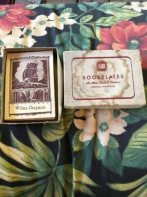 Vintage Bookplates Ship 44 In Box