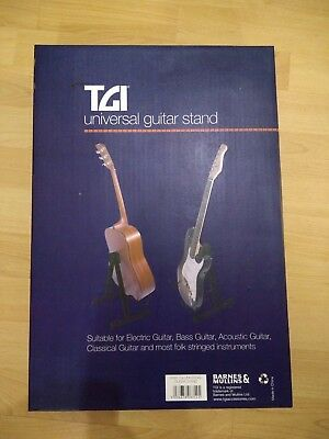 RayGar Guitar Stand Foldable Universal for Electric Acoustic and Bass Guitars...