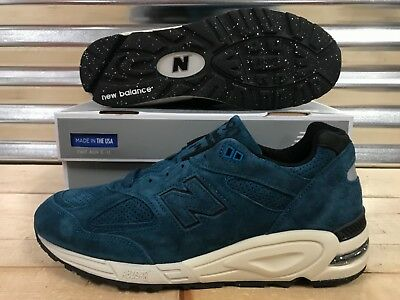 7bd8960682256 New Balance 990 Color Spectrum North Sea Blue Suede Made In USA SZ (  M990CR2 )