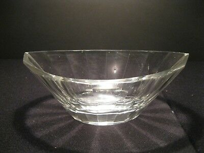 ANTIQUE, ABP CUT CRYSTAL GLASS, OVAL ICE BUCKET/SERVER - EARLY 1900's!